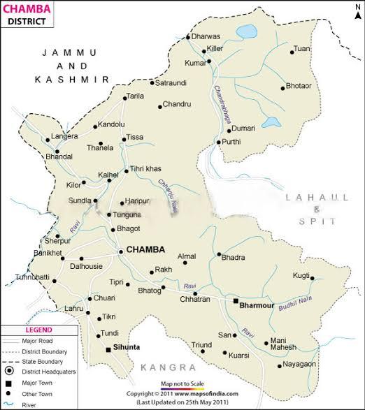 River system in Himachal pradesh-THE RAVI RIVER